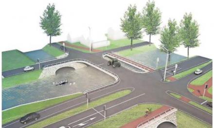 Nieuwe bruggen over de kruising Hoofdvaart/Bennebroekertocht