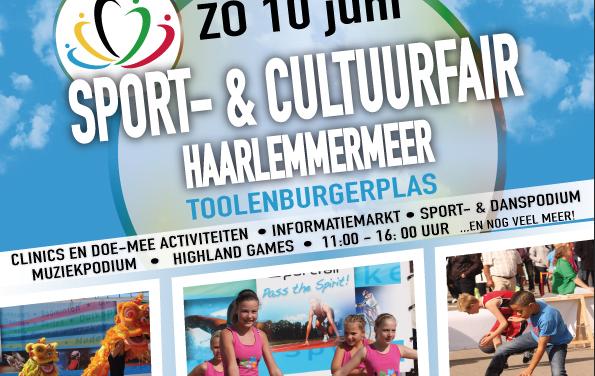Sport- & CultuurFair Haarlemmermeer 2018