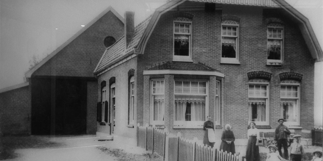 Boerderij Toolenburg omstreeks 1920